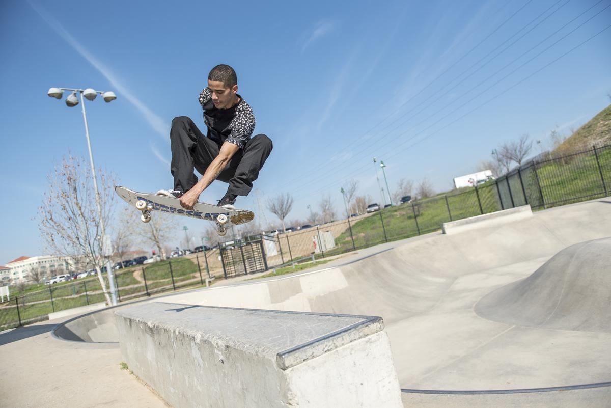 Skate Park, Granite Regional Park